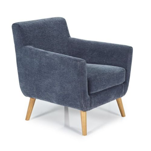 Ocassional Kelso Blue Occasional Chair